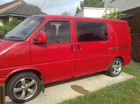 VW T4 TRANSPORTER 1995. NEED GONE. £4,100 OVNO