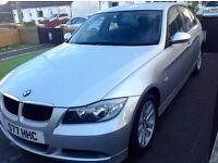 2007/57 BMW 318d 2.0 SE , DIESEL , silver , 6 speed manual , new mot , full history