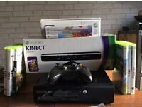 Xbox 360 250GB plus Kinect
