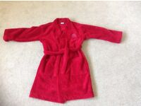 Boy's Red Herring Dressing Gown