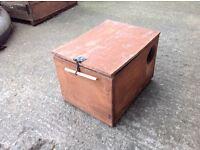 Wooden ferret box