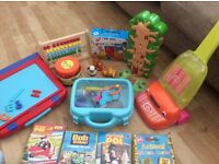 Bundle of toys for younger kids