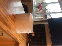 14 inch diameter white lampshade