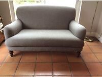 Newly new tweed sofa excellent condition