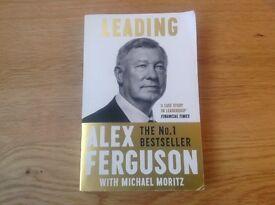 Sir Alex Ferguson -Leading Paperback Edition RRP £8.99