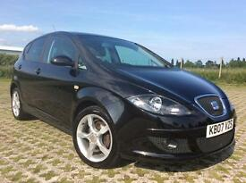 2007 SEAT ALTEA 1968cc SPECIAL EDITION DIESEL MANUAL, 5 DOORS, LEATHER, Full Service History.