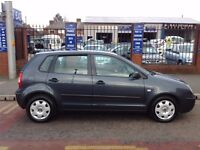 volkswagon polo 1.2 ltr only 79,000 miles from new , 12 months mot 2 former keepers 2 keys part s/h