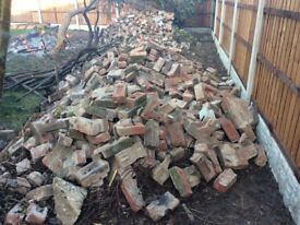 Free brick rubble/ hardcore