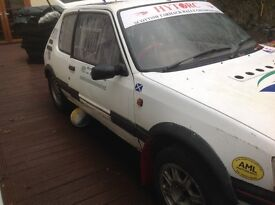 Peugeot 205 rally car