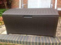Patio Storage Box for Cushions, Tools etc.
