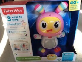 Fisher price brand new dance and move beat belle BNIB