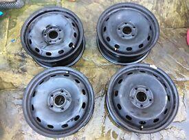 Brand new Vauxhall 16inch steel wheels x4