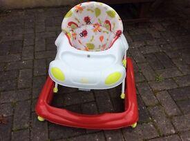 Baby walker seat