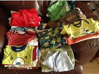 Boys Baby Clothes 3-6 months 58 assorted items