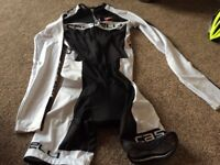 Castelli cycling skin suit