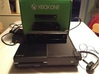 XBOX ONE 500 GB Hard drive with Kinect and Games