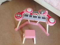 ELC child's piano & stool. Excellent condition