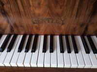 BENTLEY 1938 PIANO Upright, Overstrung 50131
