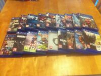 Various PS4 games from £3