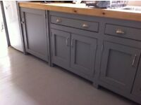 Freestanding kitchen run of 3 m