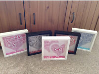 Personalised box picture frame mothers day nans gift present
