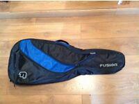 Fusion ES style guitar gig bag.