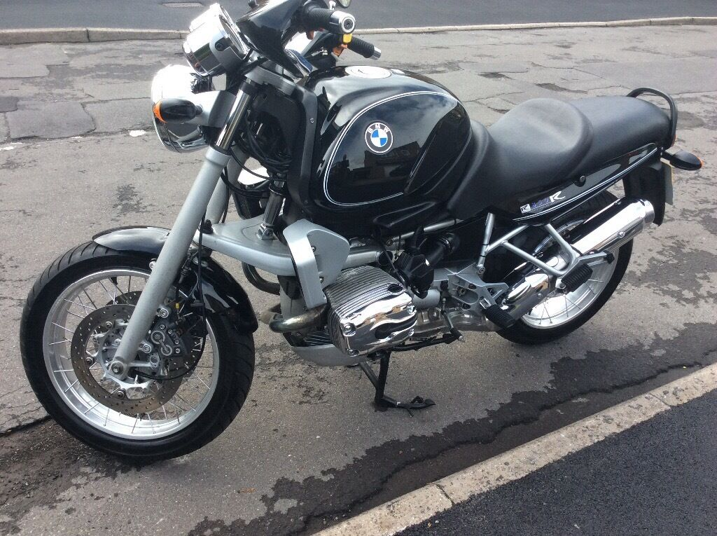 bmw r850r classic black spoked wheels in chapeltown south yorkshire gumtree. Black Bedroom Furniture Sets. Home Design Ideas