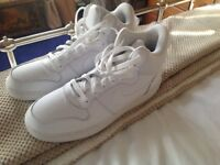 Nike White High Top Trainers Uk size 9 (worn 2-3 times!)