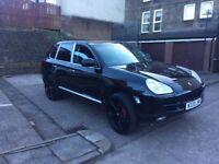PORSCHE CAYENNE S 3.2 AUTO. PR PLATE. £5250 MAY PX SWAP