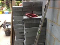 Aircrete celon standard blocks 100 new blocks @ £1.30 each 440mm x 215mm x 100 mm