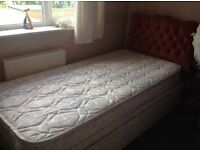 Single Bed/mattress/under draw/headboard. In very good condition. Little used.