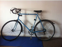 Big Rayleigh Road Bicycle for sale including lock and helmet