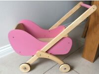 Pintoy Wooden Baby Walker Pram Toy