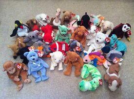 30 Ty Beanie Babies