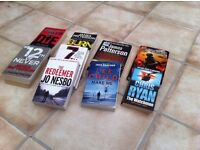 Crime and thriller books