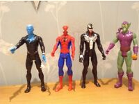 Marvel Ultimate Spider-Man vs Villains Hero Series 4 figure set