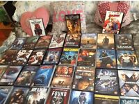 60 DVDs All Original all Boxed all Great Condition,,Horror,,Thriller,,Action,,Sci Fi