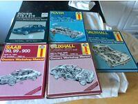 Haynes manuals ( as shown)