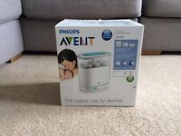 Avent 3 in 1 electric steam sterilizer. (band new never used)