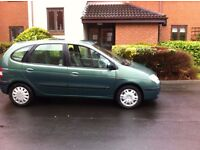 RENAULT SCENIC 1.9 TDI 5 DOOR ESTATE AND OTHER PXS
