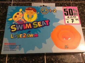 Swimming seat ring for 1-2 year old baby NEW!!!
