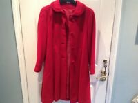Girls smart wool coat John Lewis