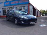 57 Peugeot 407 SW Estate 1.6 HDI, 95,000 1 owner car. Open 7 days, Part ex welcome on all cars.