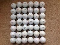 TITLEIST PROV1 GOLF BALLS X42 (USED)