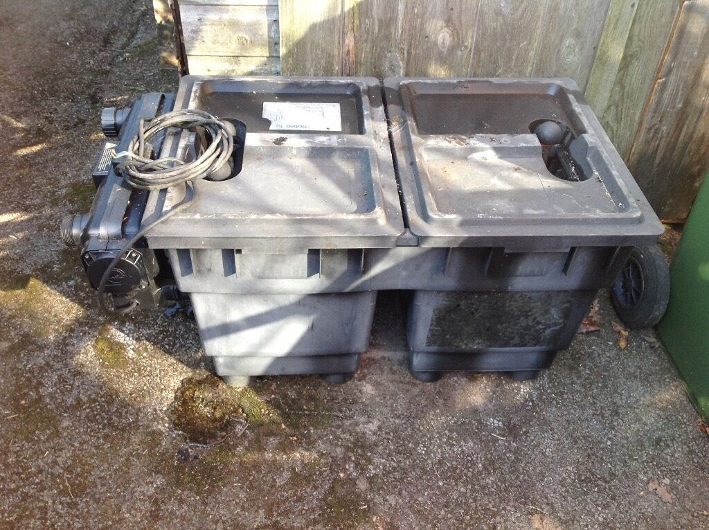 Pond Pump And Filter Oase Bitron 25 Full Kit In Four