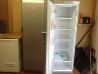 Tall silver fridge ( matching freezer also available)