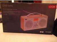 LOGIC DAB RADIO. BRAND NEW - UNWANTED BIRTHDAY GIFT