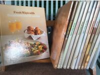 Great set of Time Life cook books