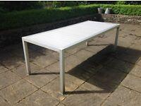 Stainless Steel Garden Table