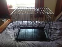 DOG CRATE. CAGE